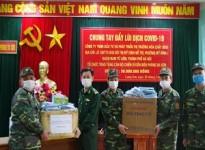 Mdi Chemical - Tổ chức trao tặng cán bộ chiến sĩ Đồn Biên phòng Ba Sơn 30 Triệu Đồng - Chung tay chống dịch Covid19